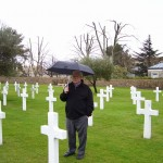 Standing among the crosses of Americans killed in Southern France is an emotional experience.