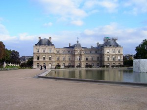 One of our first stops includes the Luxembourg Gardens with its famous palace now used by the senate.