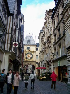 This famous clock has indicated the time for Rouen's citizens for hundreds of years.