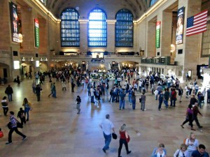 Grand Central Terminal is still a very busy place.