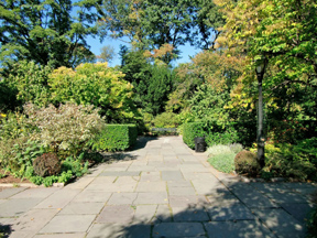 The gardens of Central Park afford a sanctuary from the noise of the city.