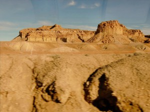 Soon after we wake up our train is traveling through the fantastic rock formations of eastern Utah.