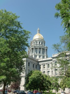 Denver is proud of its gold domed capitol building.