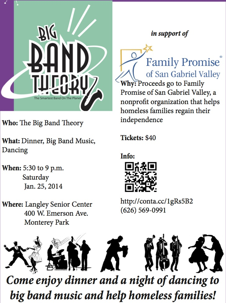 Big Band Theory Flyer