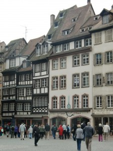 Parts of downtown Strasbourg look much as they would have during the Middle Ages.