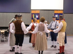 Local Swedish dancers give us the flavor of the old country while we dine on Swedish delicacies.