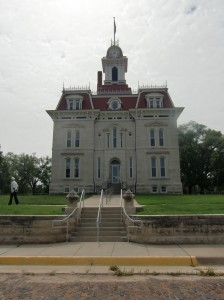 Cottonwood Falls boasts of the historic Chase County Courthouse built in l871 and still being used today.