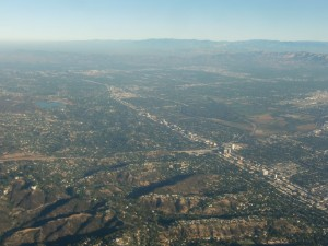 We leave Los Angeles (below) and head for Spokane, Washington.