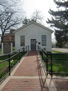 The small building in Ripon, Wisconsin is where the Republican party began.