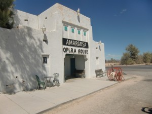 The Amargosa Opera House was made famous by the dancer and actress Marta Becket.