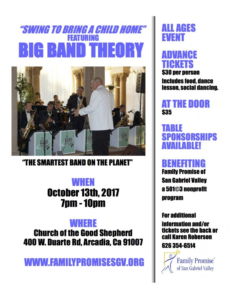 Big Band Theory Flyer1