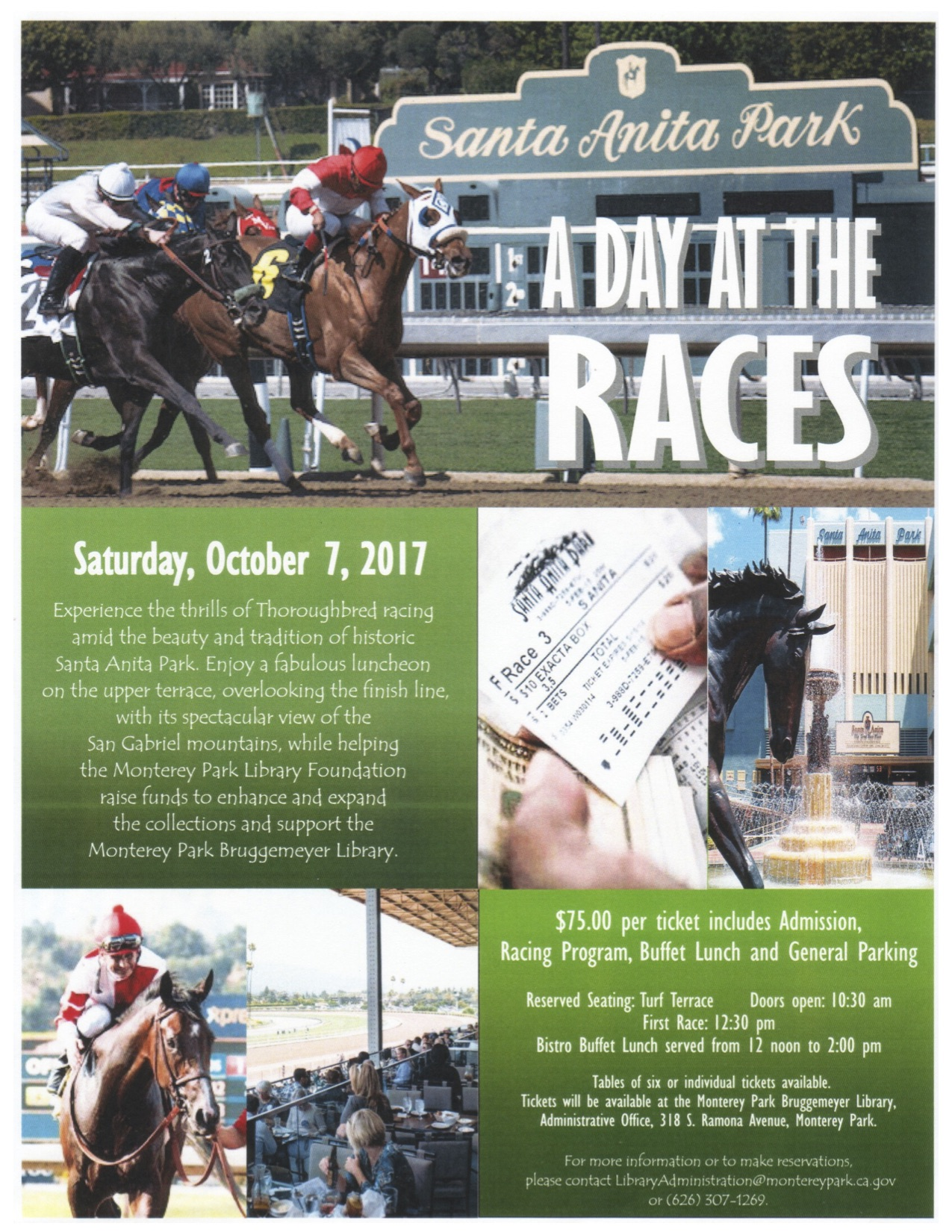 Races flyer