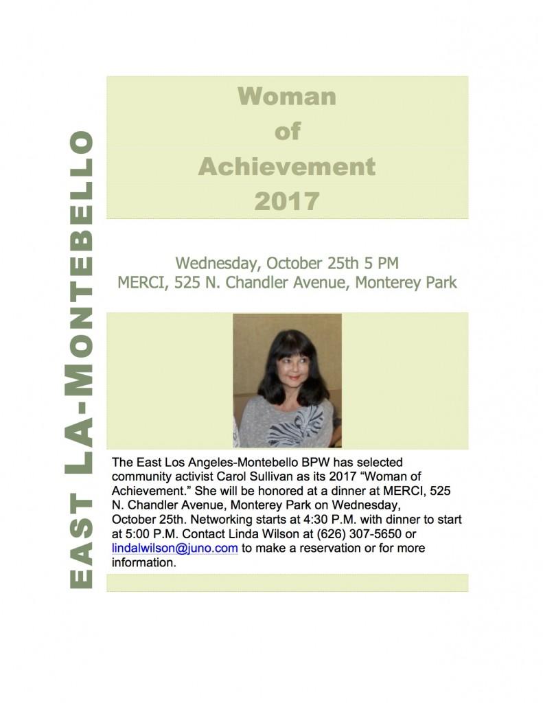 EastLAMontebelloBPWWomenofAchievement2017Flyer-1