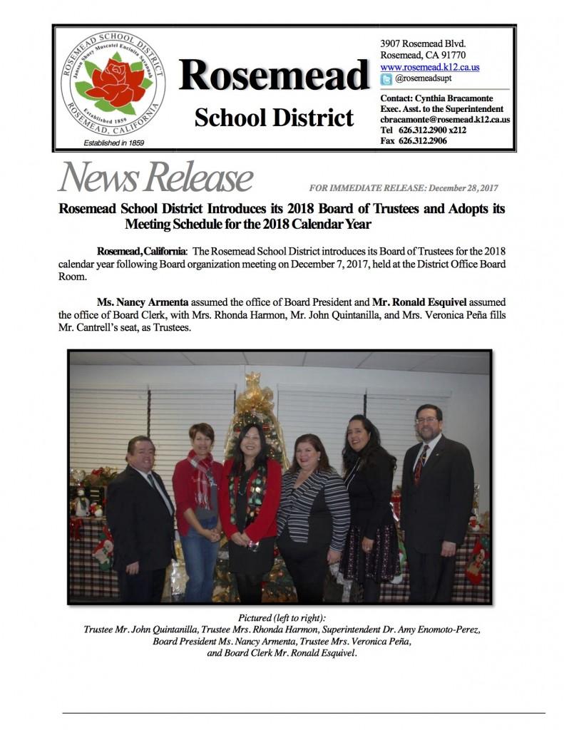 Rosemead School Board flyer1
