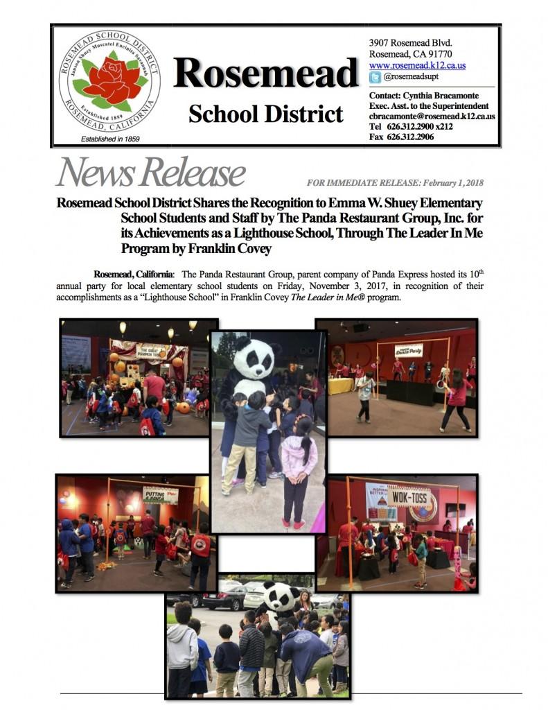 Rosemead school District