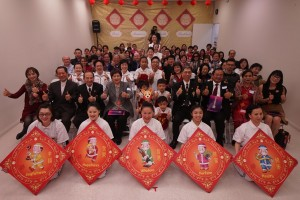 Tai Ji Men Qigong Academy in Los Angeles hosts the 2018 Chinese New Year Gathering; over 150 people attend the joyful and lively event.
