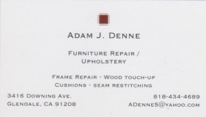 Adam's card Official