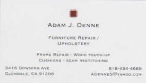 Adam's card Official