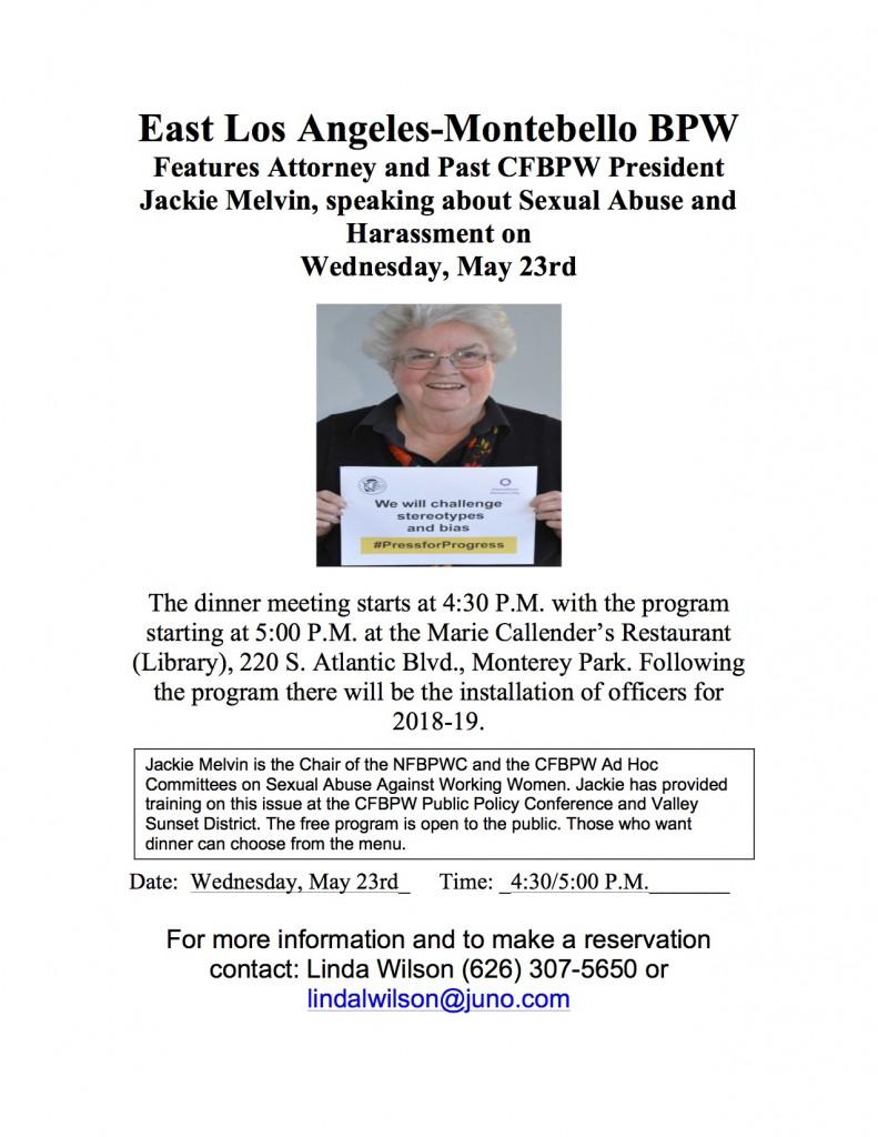 BPW Flyer