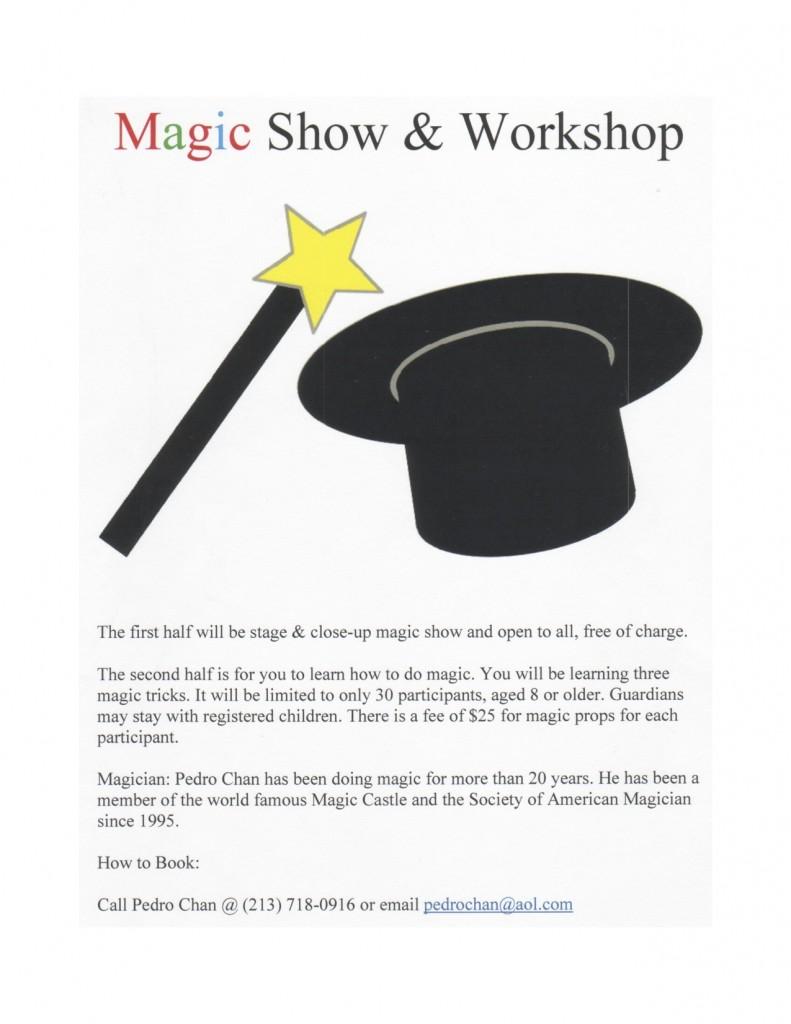 Magic flyer