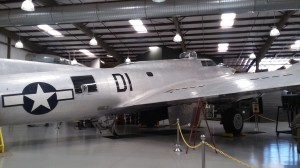 The group flew B-17's on their bombing raids.