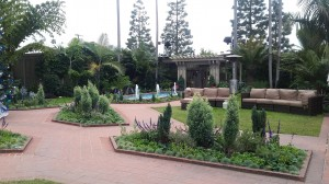 Sherman Gardens is beautifully landscaped.