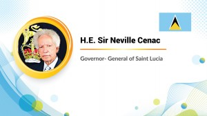 """We are one humanity defined by a conscience, without which we are all soulless,"" said Sir Neville Cenac, the governor general of Saint Lucia."
