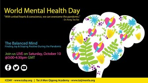 The Federation of World Peace and Love and Tai Ji Men Qigong Academy in Los Angeles co-organized a virtual forum in support of World Mental Health Day on October 10, 2020.