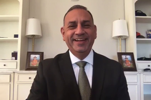 "Congressman Gilbert Cisneros commended Tai Ji Men's contribution to the community and said, ""It takes each and everyone of us to keep our community safe, and you all set a good example of how this should be done."""