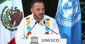 Frédéric Vacheron, head-in-charge of UNESCO office in Mexico, shared four key ideas to facilitate recovery from the pandemic crisis and improve the well-being of the COVID Generation.