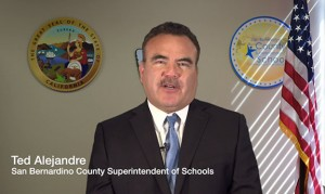 """California's San Bernardino County Superintendent of Schools Ted Alejandre said, """"We are conscience-driven to educate and illuminate a world full of possibility and hope for every student."""""""